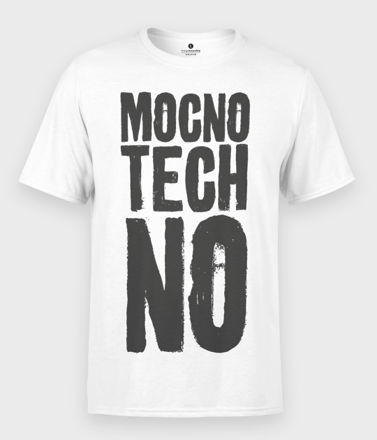 Koszulka męska Mocno Techno