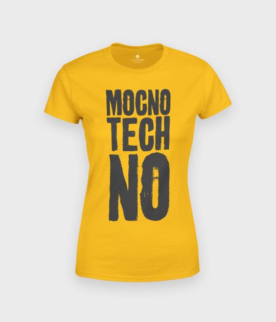 Koszulka damska Mocno Techno