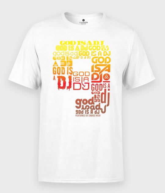 Koszulka męska DJ God