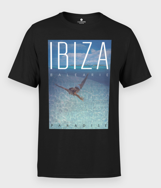 Koszulka męska Ibiza Paradise