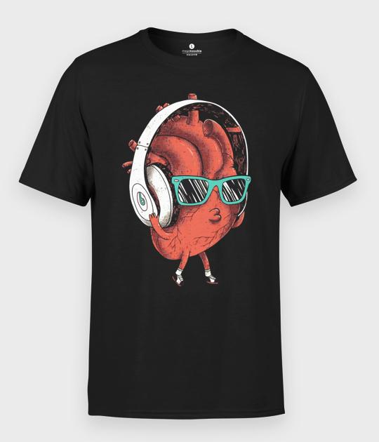 Koszulka męska Listen to your heart