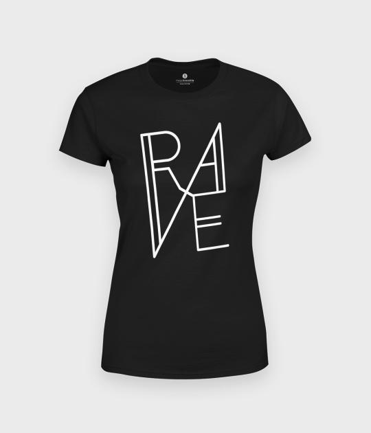 Koszulka damska muzyczna RAVE