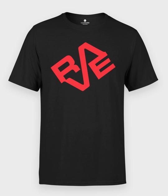 Koszulka męska imprezowa RAVE