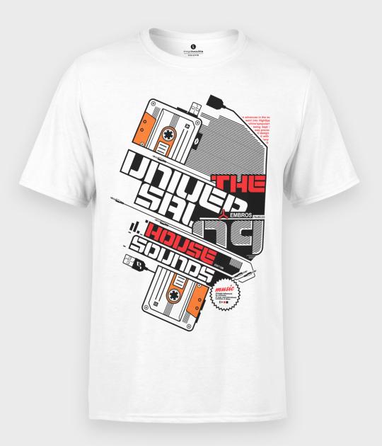 Koszulka męska House Sounds Kaseta