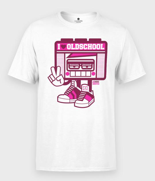 Koszulka męska I love oldschool
