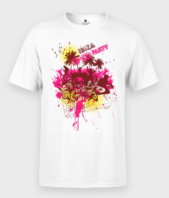 Koszulka męska Ibiza Open Party