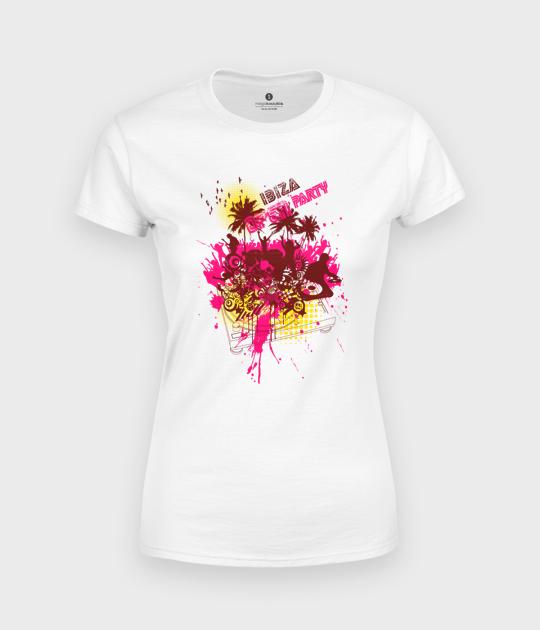Koszulka damska Ibiza Open Party