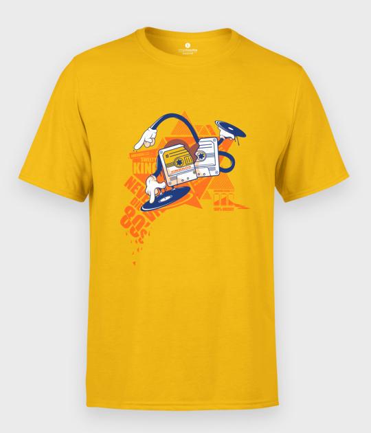 Koszulka męska Kaseta Magnetofonowa New Wave