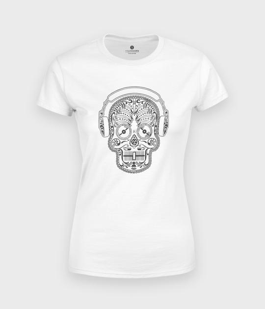 Koszulka damska Muzyczna Sugar Skull