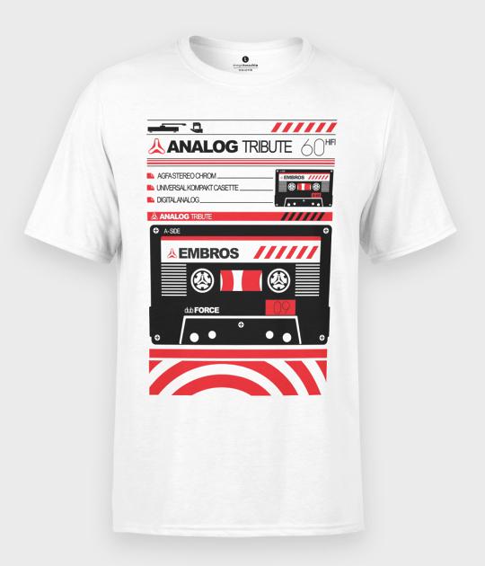 Koszulka męska Analog Tribute
