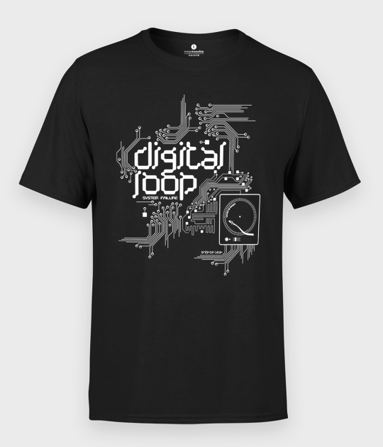 Koszulka męska Digital Loop Circuit