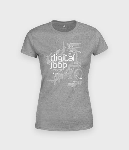 Koszulka damska Digital Loop Circuit