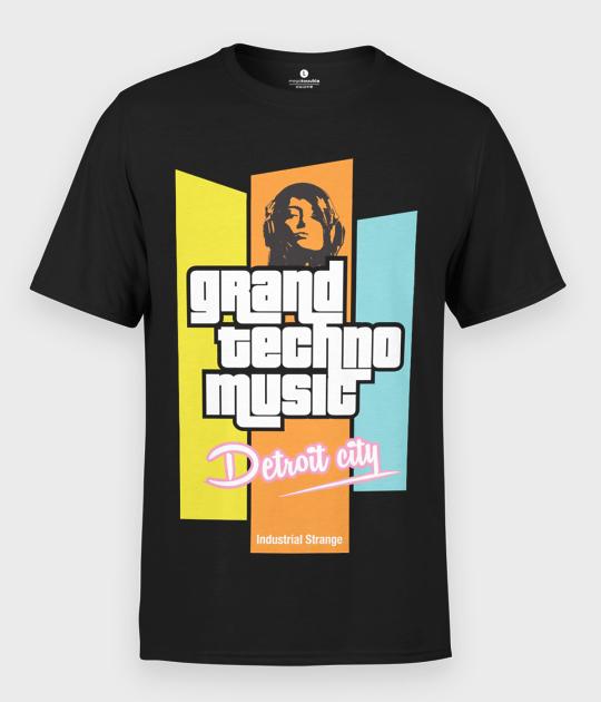 Koszulka męska Grand Techno Music