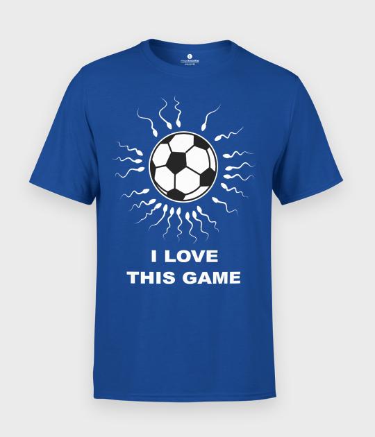 Koszulka męska Football I love this game
