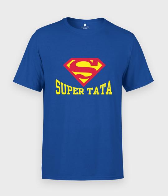 Koszulka męska na dzień taty - Super tata 2