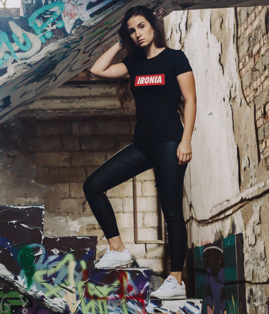 Koszulka damska Damska Serafin - Ironia
