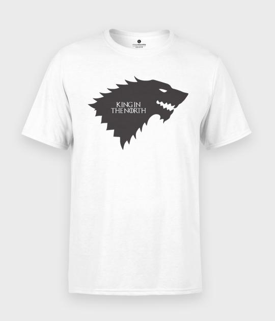 Koszulka męska King the north