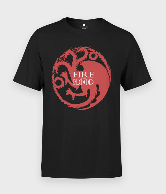 Koszulka męska Fire and blood