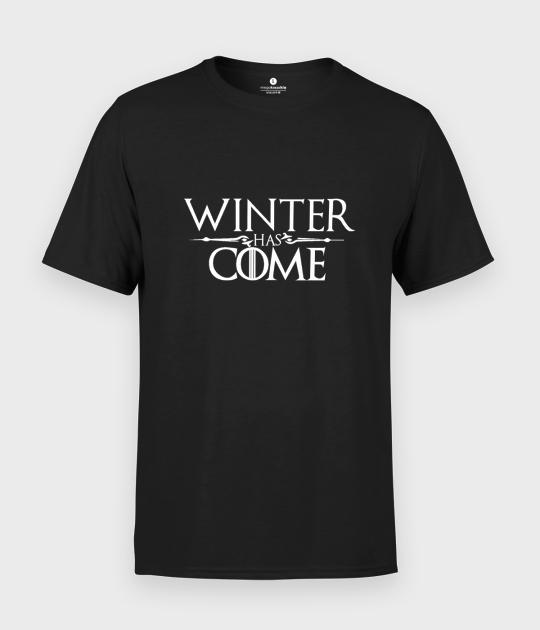 Koszulka męska Winter has come
