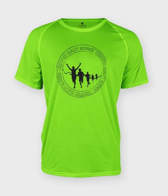 Koszulka męska sportowa Certified quality runner