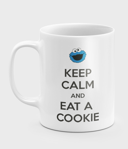 Kubek Keep Calm and Eat a Cookie