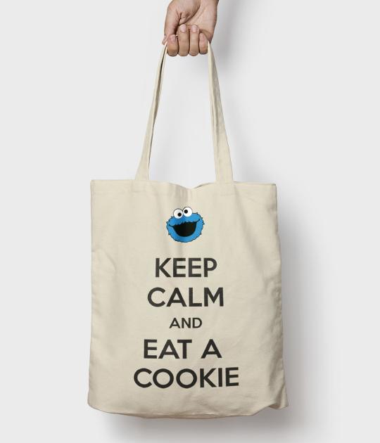 Torba bawełniana Keep Calm and Eat a Cookie