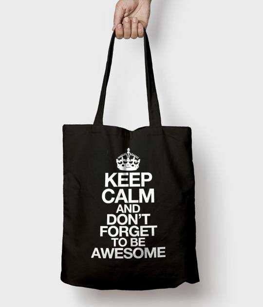 Torba bawełniana Keep Calm