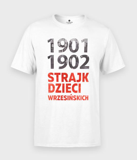 Koszulka męska Strajk dzieci wrzesińskich