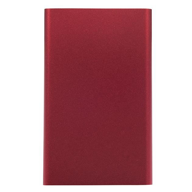 Powerbank 4000 mAh czerwony (bez nadruku)