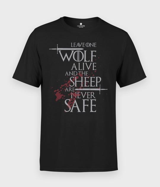 Koszulka męska Wolf
