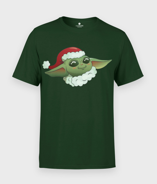 Koszulka męska Star Wars Świąteczny Baby Yoda