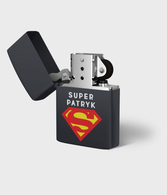 Zapalniczka benzynowa Super + Twoje Imię