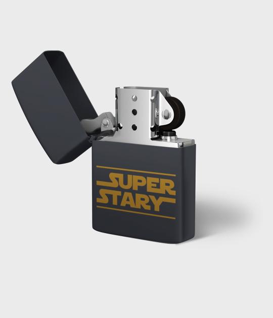 Zapalniczka benzynowa Super stary