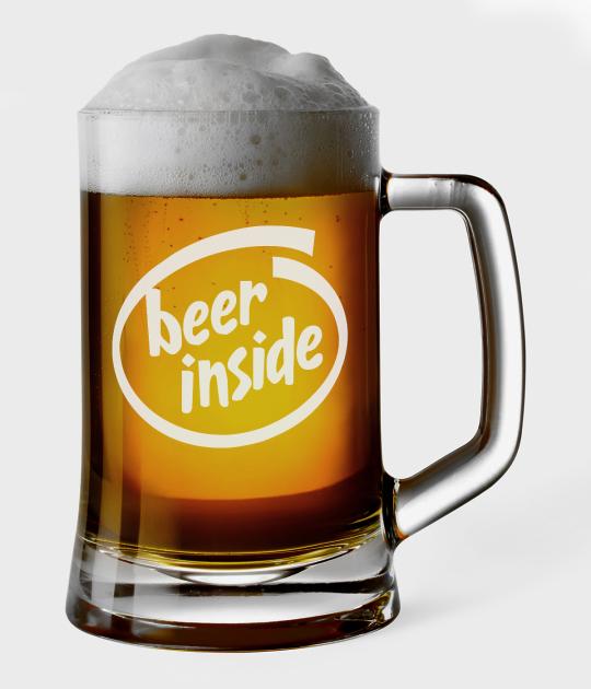 Kufel do piwa Beer Inside