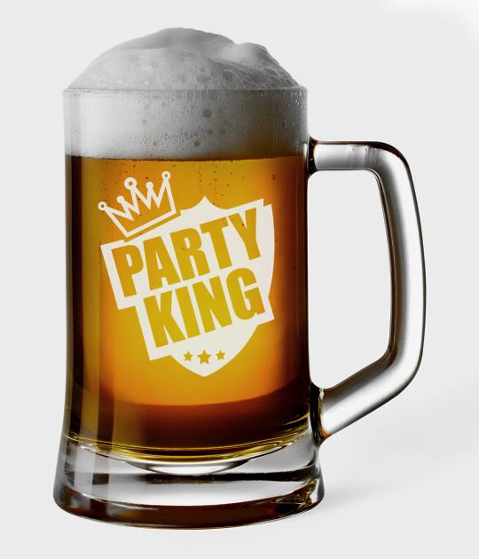 Kufel do piwa Party king
