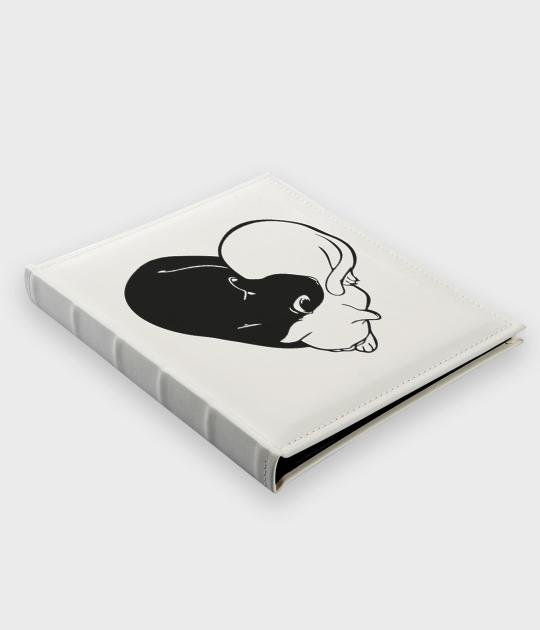 Album do zdjęć z eko skóry Yin Yang Koty