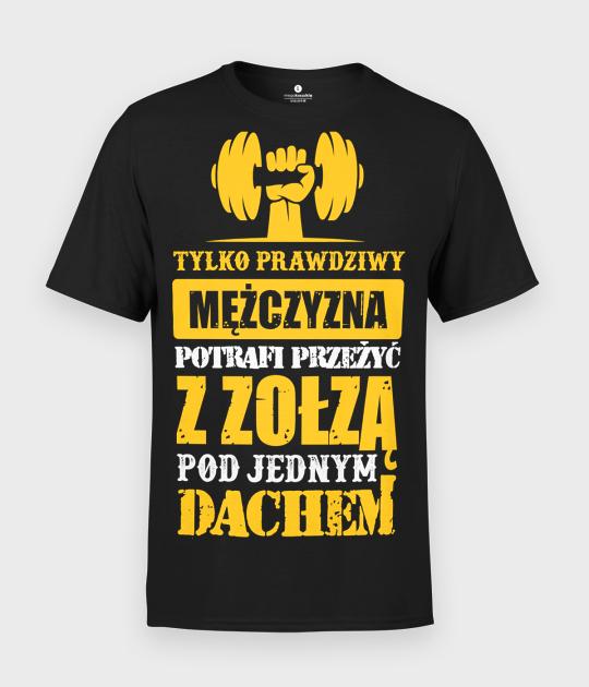 Koszulka męska Prawdziwy Facet i Zołza