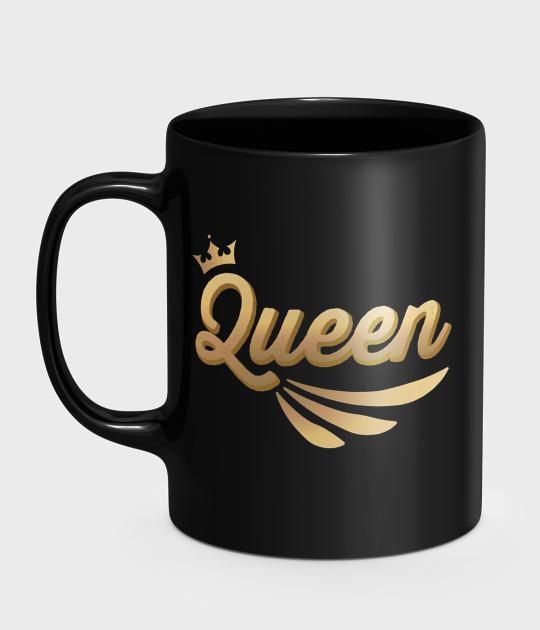 Kubek Złota Queen