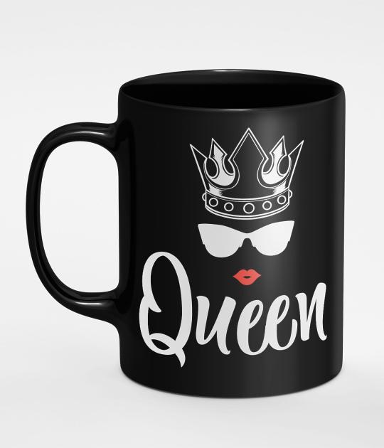 Kubek Queen z Grafiką