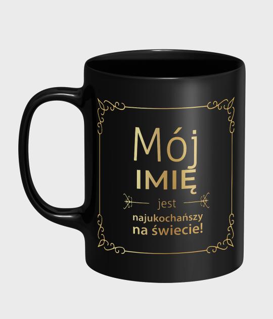 Kubek Mój + imię Twojego Partnera