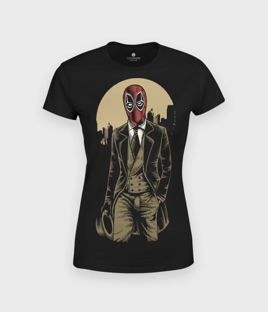 Koszulka damska Deadpool Gentleman