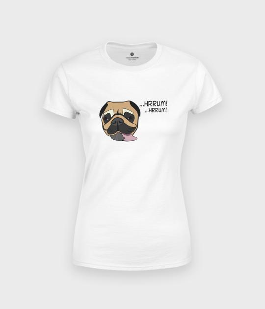 Koszulka damska Mops