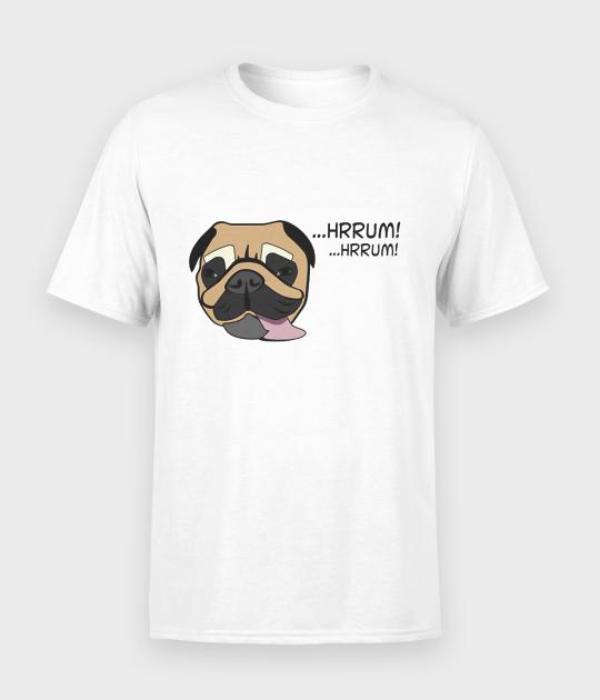 Koszulka męska Mops hrrum