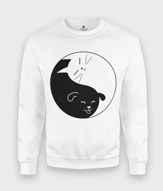 Bluza klasyczna Yin Yang Kot i Pies
