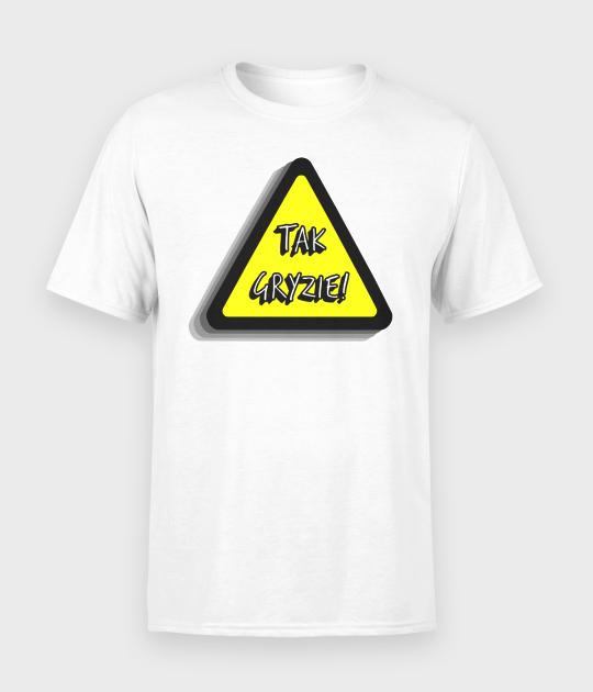 Koszulka męska Tak gryzie