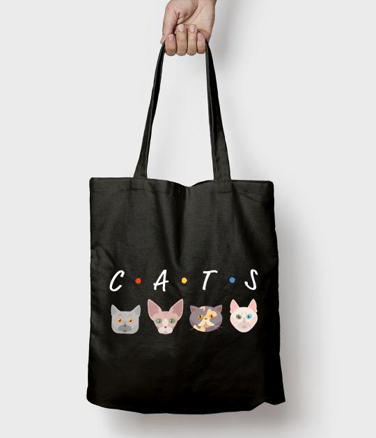 Torba bawełniana CATS