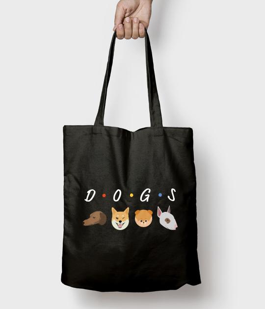 Torba bawełniana DOGS
