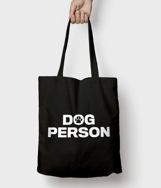 Torba bawełniana Dog Person