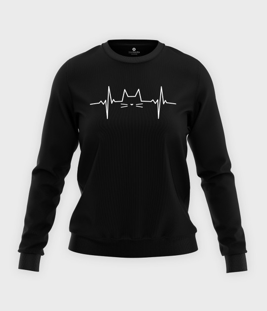 Bluza klasyczna damska Kocia linia 2