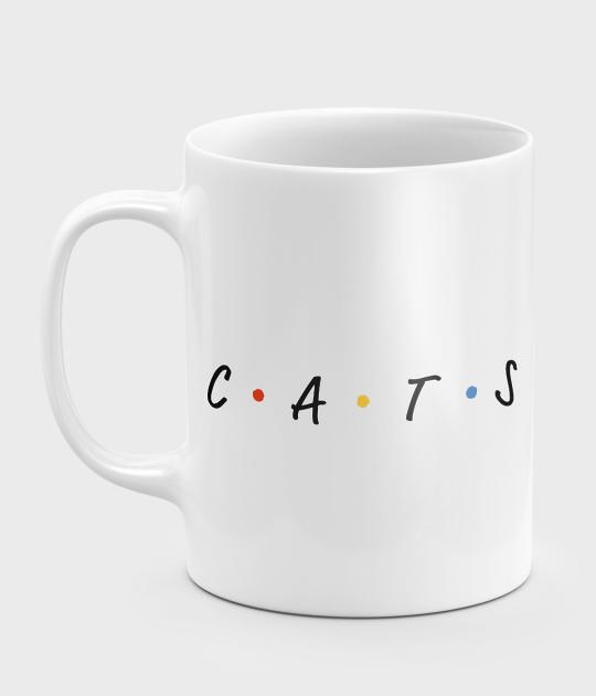 Kubek CATS napis